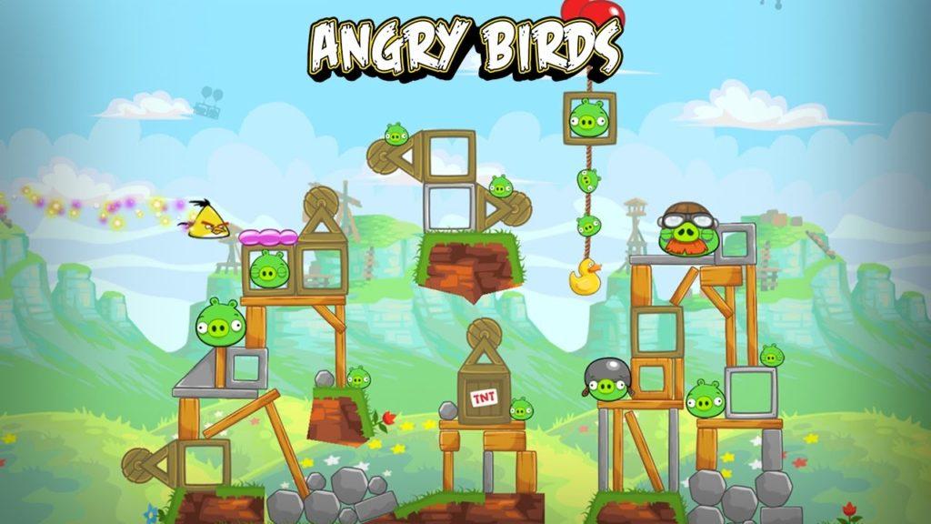 Angry Birds Reloaded Скачать на Андроид