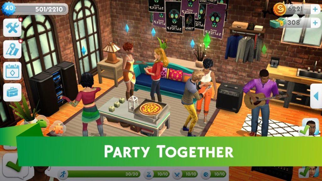 The Sims™ FreePlay + МОД много денег, ViP