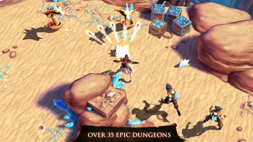 Dungeon Hunter 4 Скачать на Андроид Мега Мод